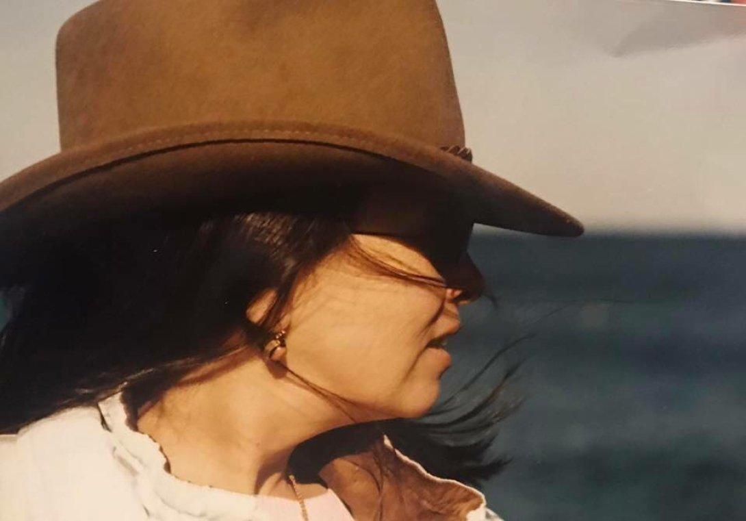 La poeta cubana Alina Galliano