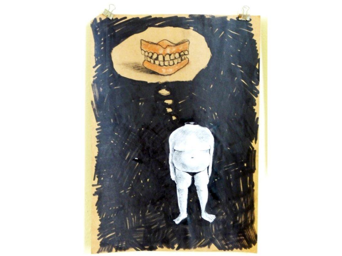 Uno de los dibujos de Camila R. Lobón (1995).
