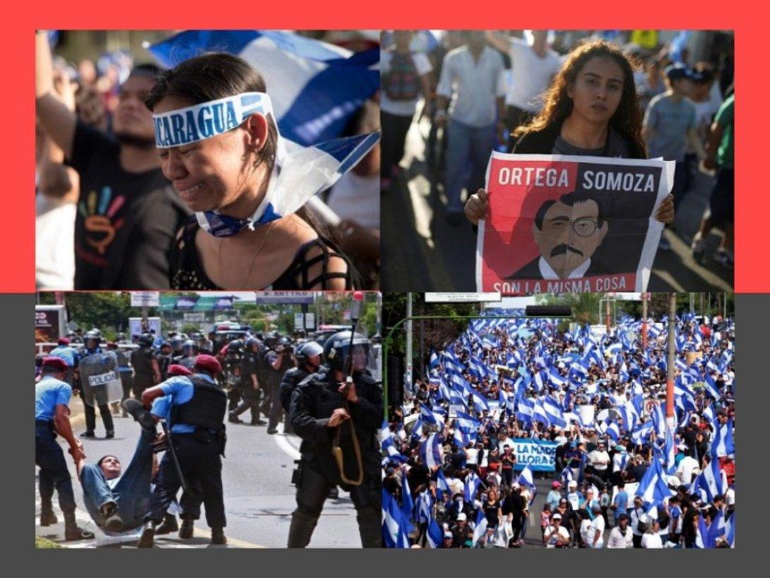 Rebelión de Abril (2018) en Nicaragua.